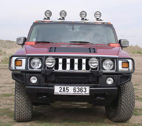 Nový model Hummer H2 - prodej na našem trhu úspěšně zahájen