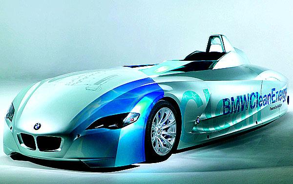 BMW dosáhl devět rekordů se spalovacím motorem na vodík