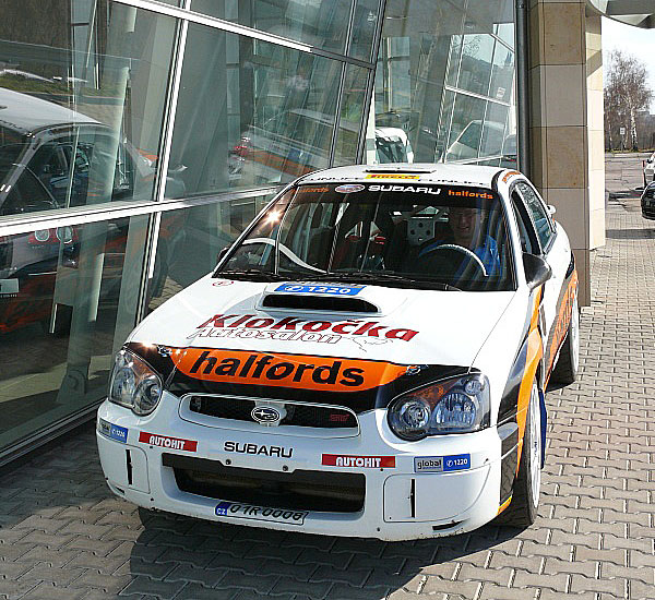 Halfords partnerem Subaru Rally Teamu ČR