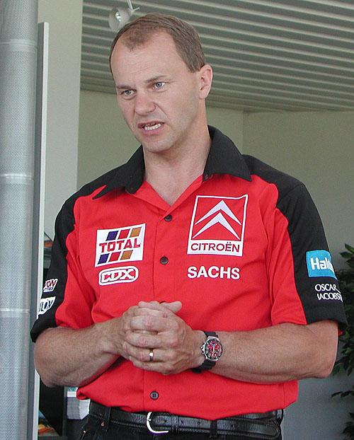 Již zítra zaburácí motor Citroena Xsara za volantem sKenneth Hansenem na rallycrossu v Sedlčanech