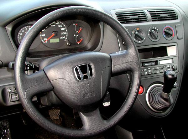 Honda Civic se třemi dveřmi vtestu redakce