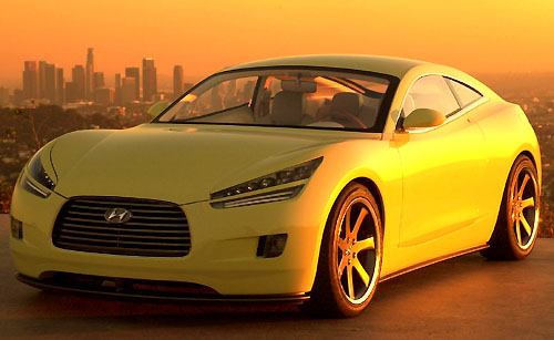 Hyundai představil studii dvoudveřového kupé budoucnosti HCD-8 Sports Tourer
