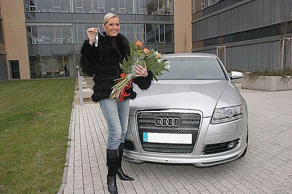 Helena Vondráčková si vybrala Audi A6