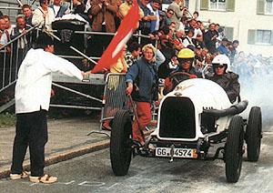 Historické Opely zdolávaly slavný Klausenpass