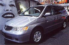 Honda ve Frankfurtu