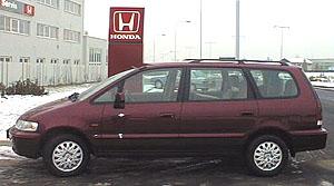 Honda Shuttle – opravdu velkoprostorový vůz
