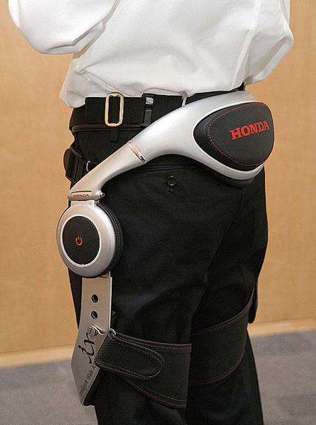 Honda vystavila Experimentální pomocný přístroj pro chůzi na výstavě BARRIER FREE 2008