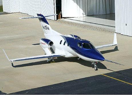 Letové zkoušky experimentálního komerčního proudového letadla HondaJet začaly