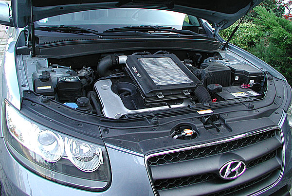 Hyundai Santa Fe 4x4 v sedmisedadlovém provedení v testu redakce