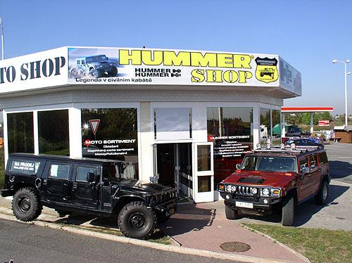 Co vše pro vás může Hummer centrum zajistit