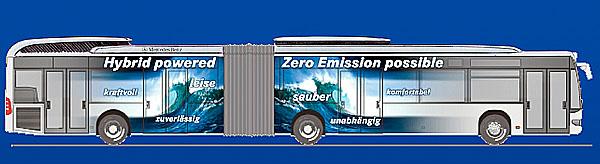 Autobusy Mercedes-Benz na kongresu UITP 2007 vHelsinkách