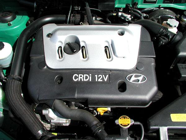 HYUNDAI ACCENT snovým dieselovým motorem typu Common Rail