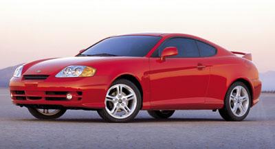 Premiéra vozu Hyundai Coupe