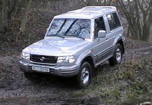 Hyundai Galloper v terénu