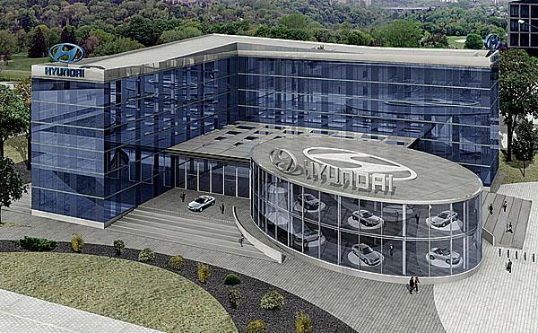 Otevřena nová evropská centrála Hyundai