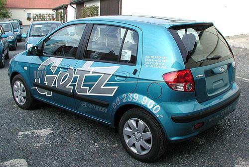"Hyundai Getz získal bronz vanketě ""Auto Roku 2003"""