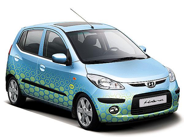 Na ženevském autosalonu Hyundai vystavuje novou řadu i-blue moderních eko-dynamických vozů