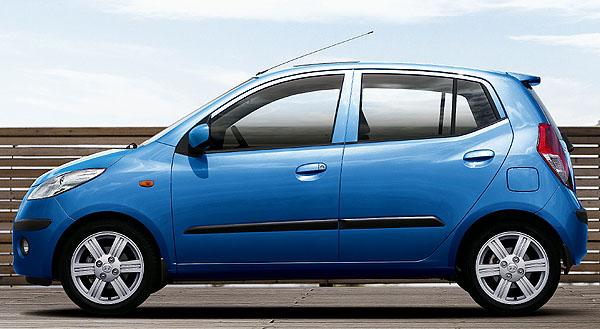Pětidveřový pětimístný Hyundai i10 vprodeji u českých autorizovaných prodejců Hyundai