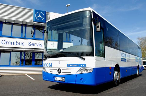 EvoBus GmbH obdržel velkou zakázku na 600 autobusů Mercedes-Benz Intouro z České republiky