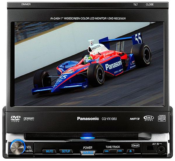 Panasonic představil dva nové špičkové DVD přehrávače do aut