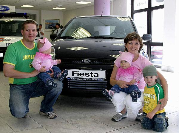 Ford Fiesta předána vítězce soutěže
