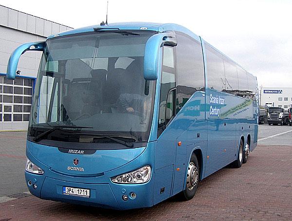 """Limitovaná série autobusů Scania Irizar Century """"Newton"""" byla vyrobena vpočtu pouze 25 kusů pro celou Evropu."""