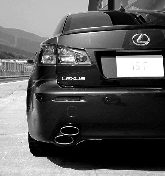 Lexus upoutal ve Frankfurtu pozornost sportovním modelem IS F