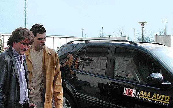 Jaromír Jágr jezdí sAAA AUTO
