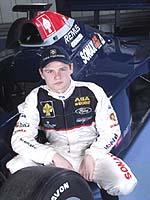 Jarek Janiš testovacím jezdcem týmu formule 1 Jordan Ford.
