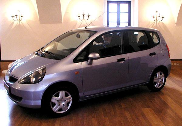 Nový malý vůz Honda Jazz vprodeji na českém a slovenském trhu