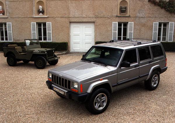 Jeep Cherokee 60 Anniversy