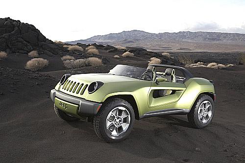 Koncept Jeep® Renegade: terénní vůz pro dva