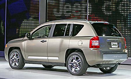 S novým modelem Jeep Compass vstupuje značka Jeep® do nového tržního segmentu