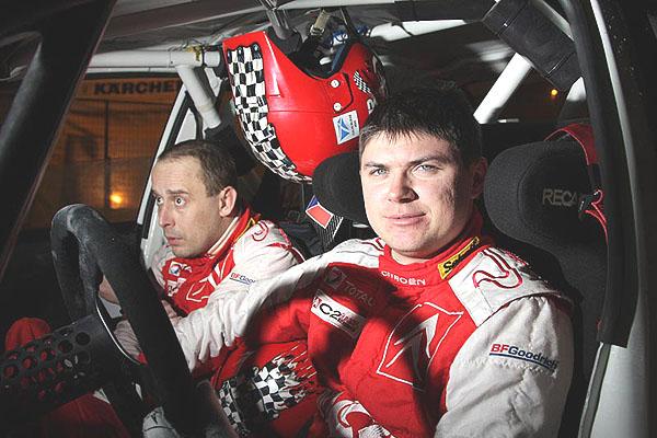 Švédsko – cíl: Martin Prokop se na Mitsubishi Lancer Evo umístil na vynikajícím čtvrtém místě