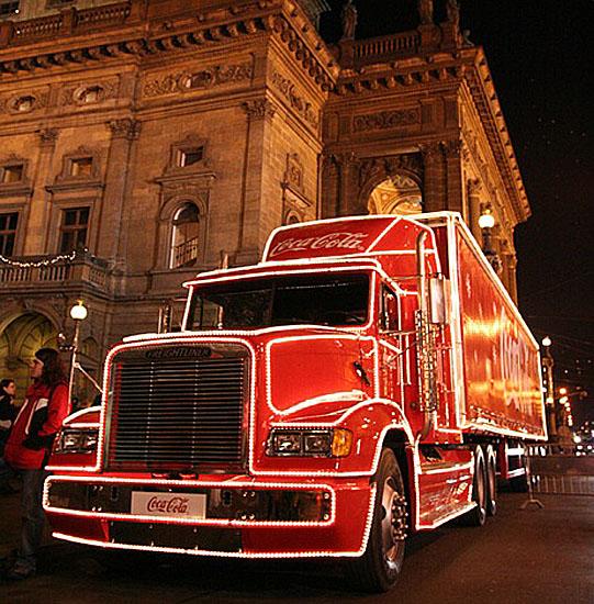 Již osmým rokem vyjíždí Vánoční kamion společnosti Coca-Cola na svoji pouť po České republice.