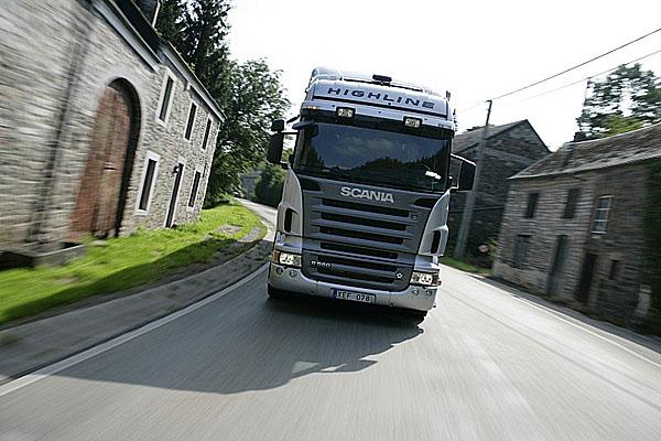 Sonda mezi truckery