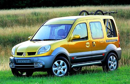 Renault Kangoo Break'up - nový prototyp na bázi Kangoo