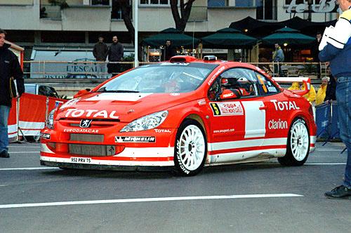 Rallye Monte Carlo včera vneděli skončila (22.–25.1.2004)