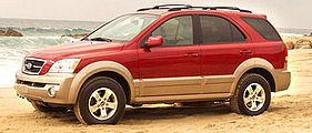 Kia Sorento v Americe jako nejlepší SUV pro rok 2003