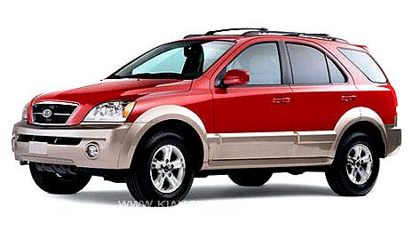 Dieselové Kia Sorento modelový rok 2004 snovou automatickou sekvenční převodovkou