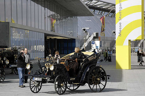 Vneděli 16. března skončil veletrh historických vozidel ve Stuttgartu