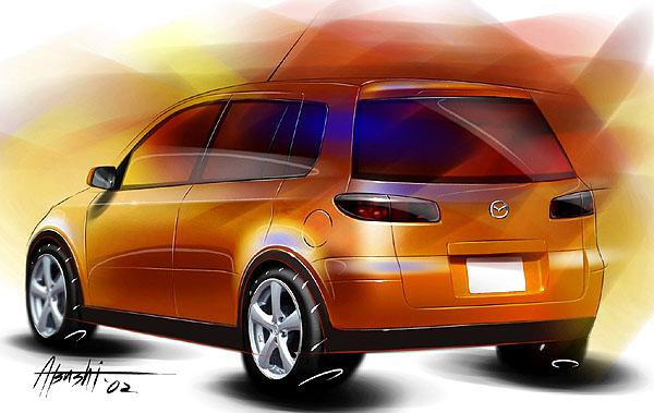 Mazda MX Sport Runabout na letošním březnovém autosalonu