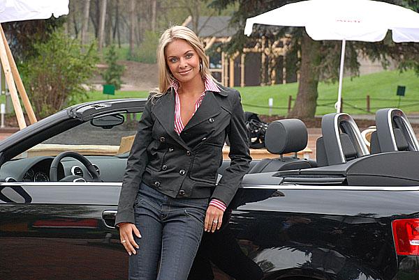Miss World a Miss ČR 2006 Taťána Kuchařová první českou řidičkou nového Audi A3 Cabriolet