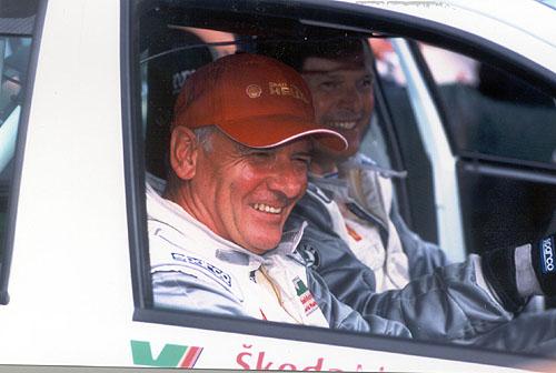 Netradiční posádka na Rallye Bohemia překvapila