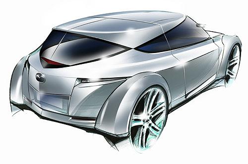 Mazda odhalí v září na 60. frankfurtském autosalonu zcela nový Zoom-Zoom koncept