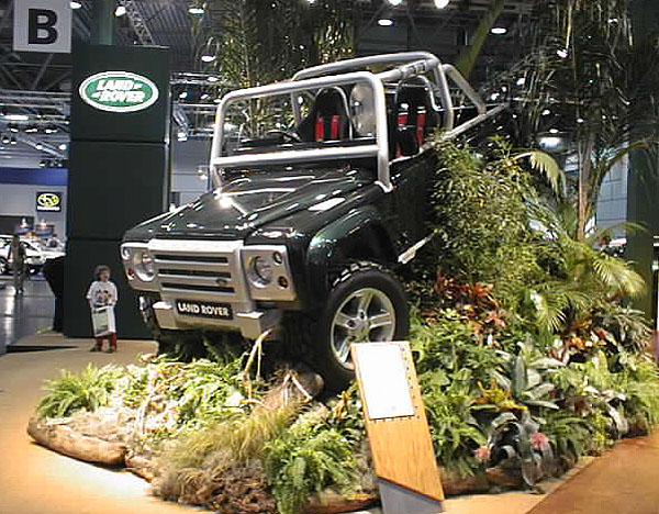 """Land Rover: s """"offroadovou studií"""""""