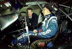 Laurent Aiello o titul s Nissanem Primera GT
