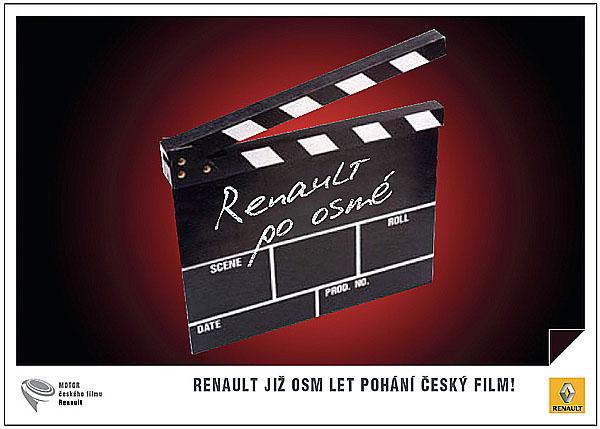 Renault partner české kinematografie již osm let