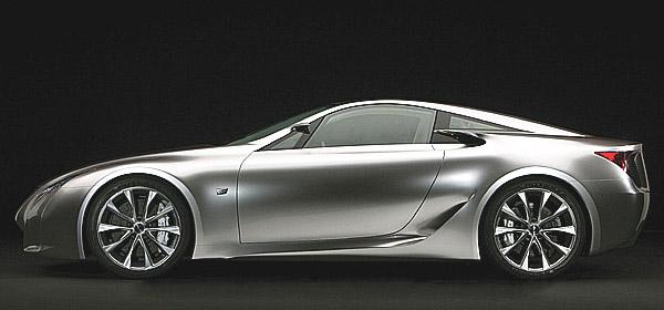 Lexus se v rámci vývoje modelu LF-A zúčastní závodu na 24 hodin