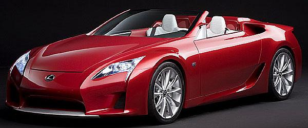 Lexus LF-A v provedení roadster